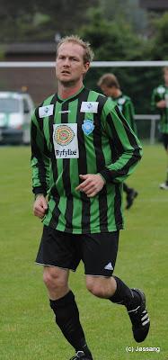 Ivar Melberg skåret Staal sitt første mål