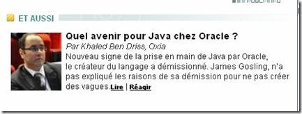 Java, SaaS, SOA, open source