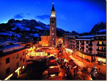 Mercatino di Natale di Cortina d'Ampezzo - Corso Italia