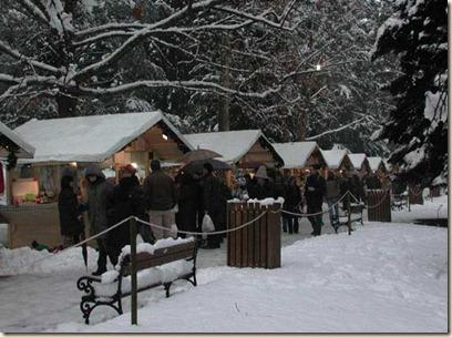 Mercatino di Natale di Levico Terme - Parco secolare degli Asburgo