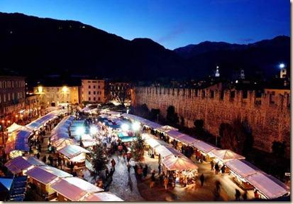 Mercatino di Natale di Trento - Piazza Fiera