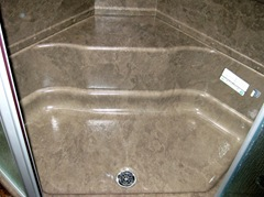 Alpine 38 in. shower