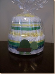diaper cake by Wendy