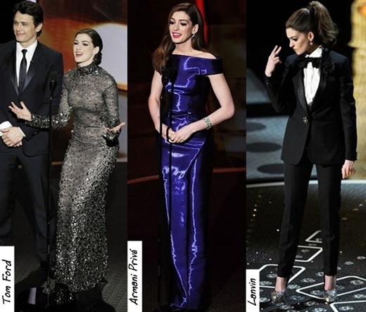 Anne Hathaway James Franco: Books ' N Roses: And The Best Dress Is