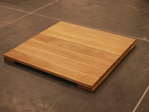 bangkirai holzfliesen 50 x 50 cm fliese 30 mm stark ebay. Black Bedroom Furniture Sets. Home Design Ideas