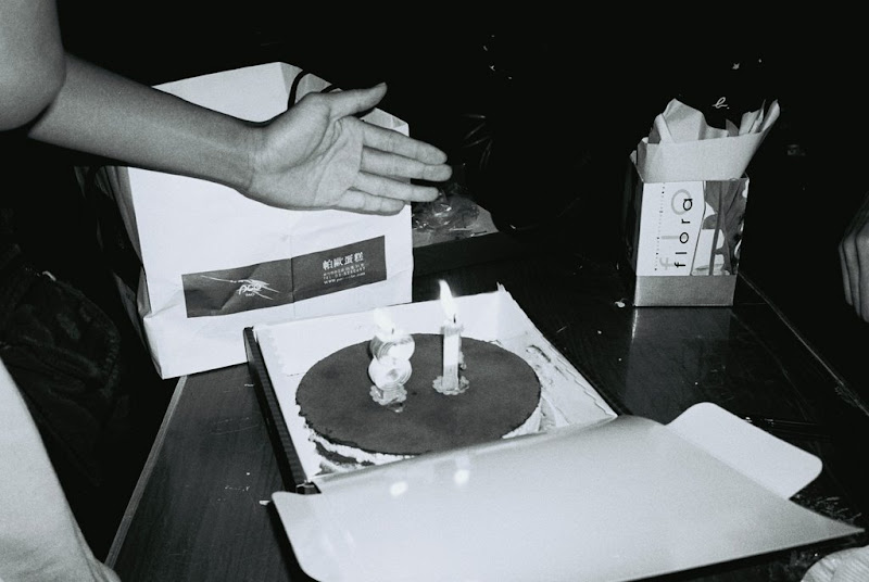 自己手沖的 Kodak TMY400