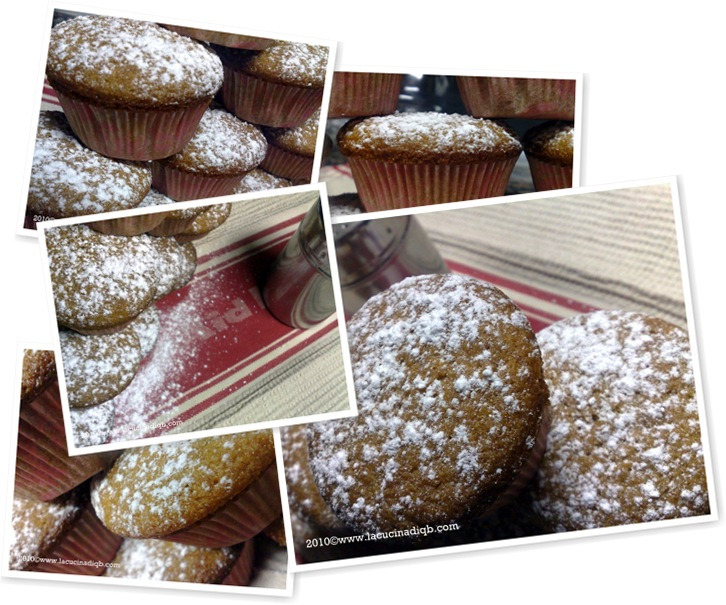 Visualizza muffin integrali con evo e lime