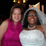 MeChaia Lunn and Clyde Long's wedding