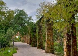 TX LBJ WFC Aqueduct Rain Water