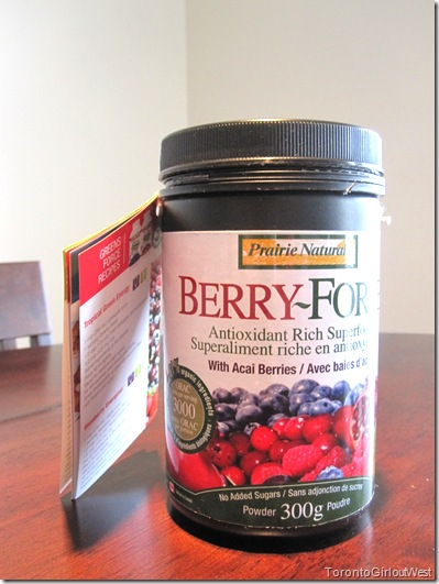 Berry Force Bottle