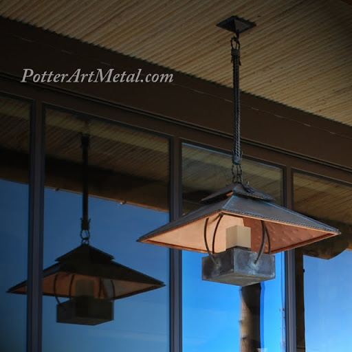 Custom Copper Lights :  outdoor custom indoor lights