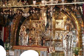 Basílica del Santo Sepulcro: Calvario