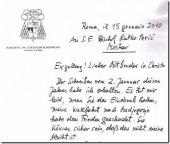 Carta Schonborn-Peric