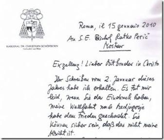 Carta Schonborn-Peric