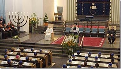 El Papa en la Sinagoga de Colonia