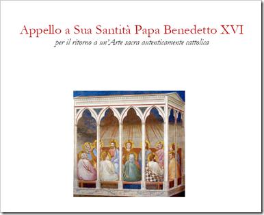 Appello al Papa
