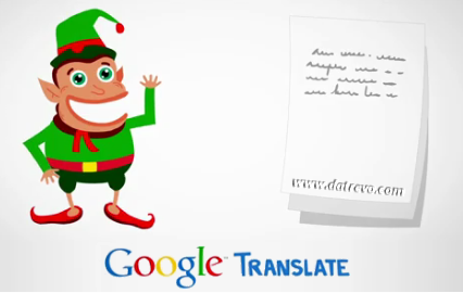 Gli elfi bilingue di Google Translate
