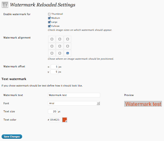 Watermark Reloaded