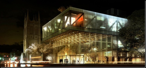 Museum in Quebec by OMA 01