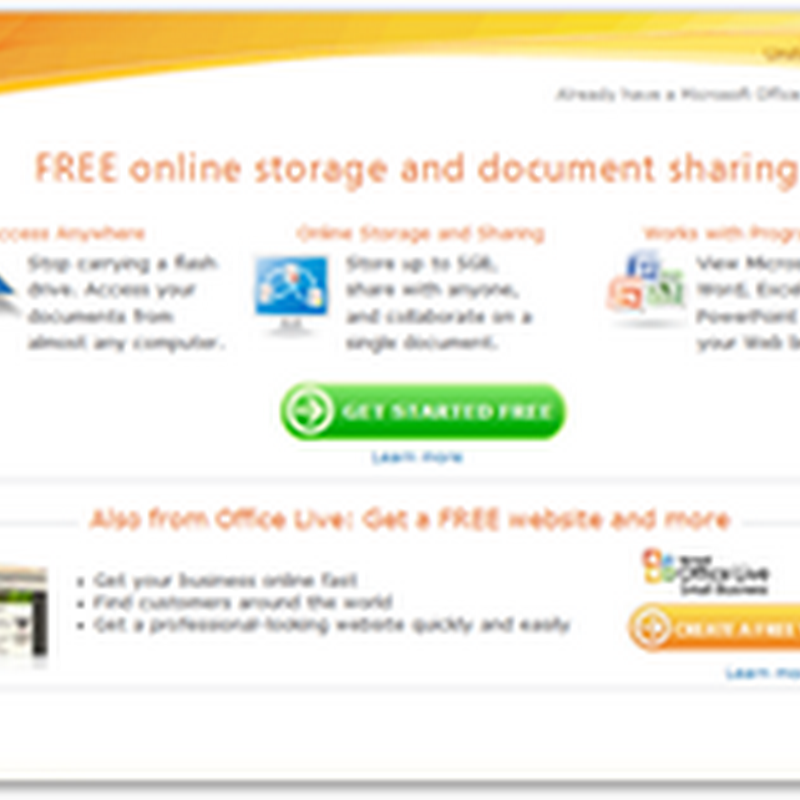 Office Web free Online Apps from Microsoft Coming Next Month – Use Web Services or Desktop Office or Both