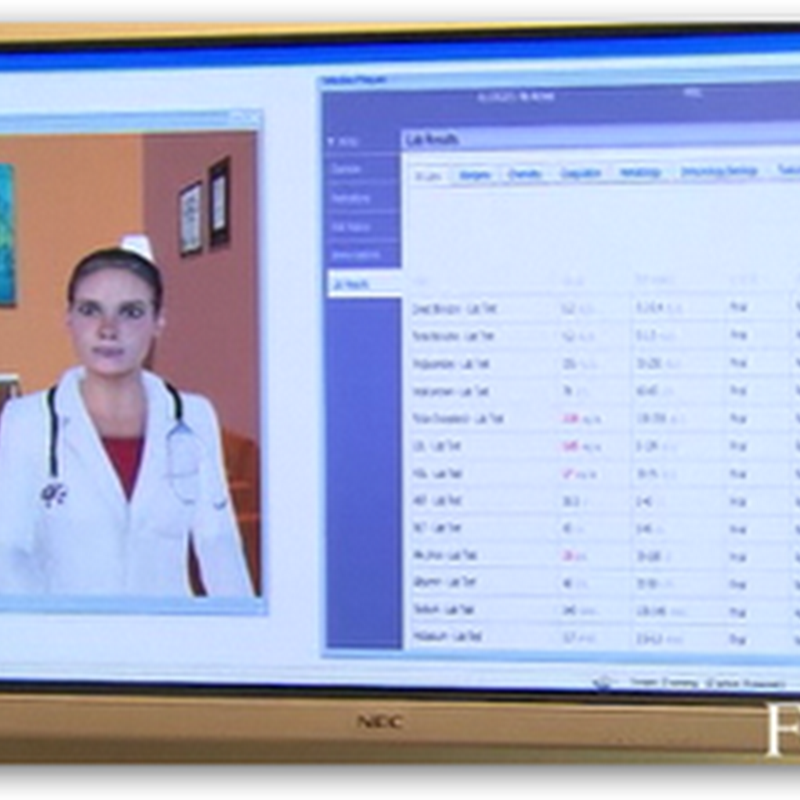 Cisco's Vision of the Future – Video Showing Virtual Assistants and Microsoft Surface With Healthcare