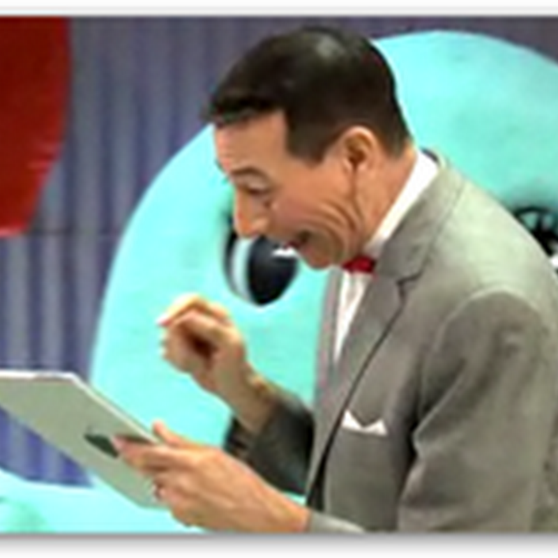 Pee Wee Gets an IPAD (Video)