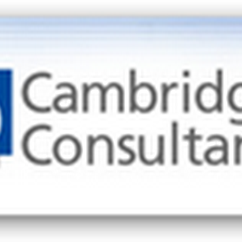 Cambridge Consultants Announces Consulting Services For Clinical Trials Using Bayesian Statistical Analysis To Help Expedite the Process and Help Negotiate with the FDA