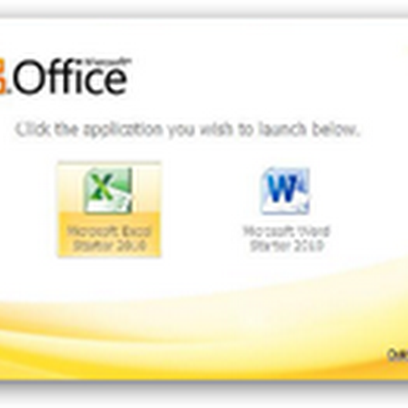 "Microsoft's Office (Free) Starter – Replaces ""Works"" and Will be Available on New PCs Soon"