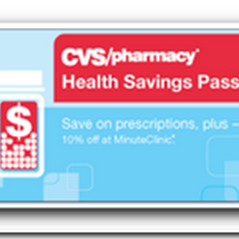 CVS/Caremark join the Generic Discount Club – Connect information to Personal Health Record Accounts