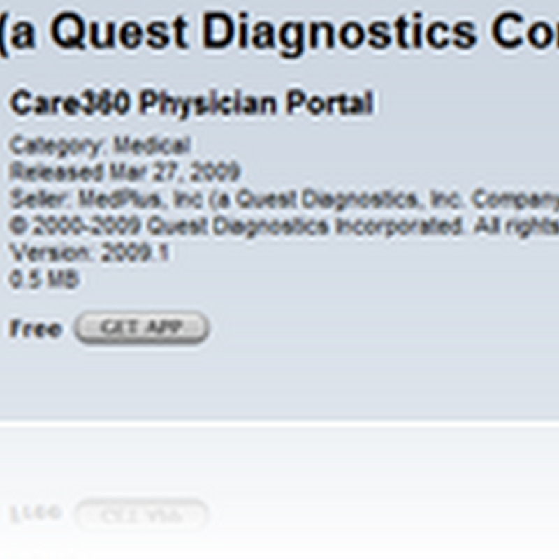 Quest Care360 – Access Patient Lab Results and Medication History from your iPhone