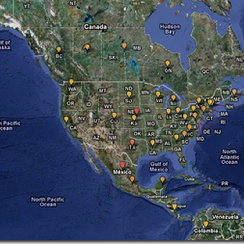 Global Map to View Swine Flu Alerts – HealthMap for Global Disease