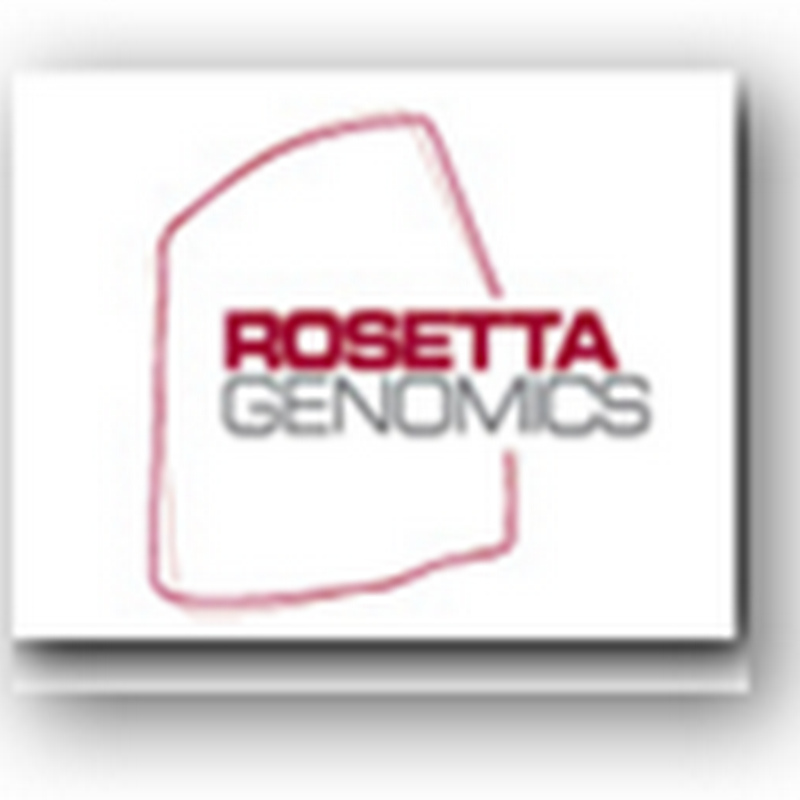 Rosetta Genomics Cancer Test now Available in 48 States – Cancer of the Unknown