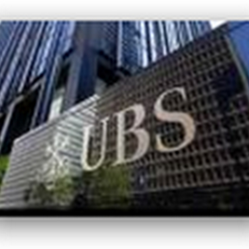 UBS in Switzerland will not pay fine in U.S. Evasion Settlement – Names To Be Released, Healthcare Bankers Leave to Work for Competitor