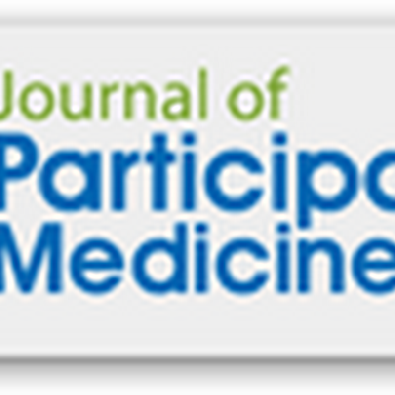 Journal of Participatory Medicine – Website Launch