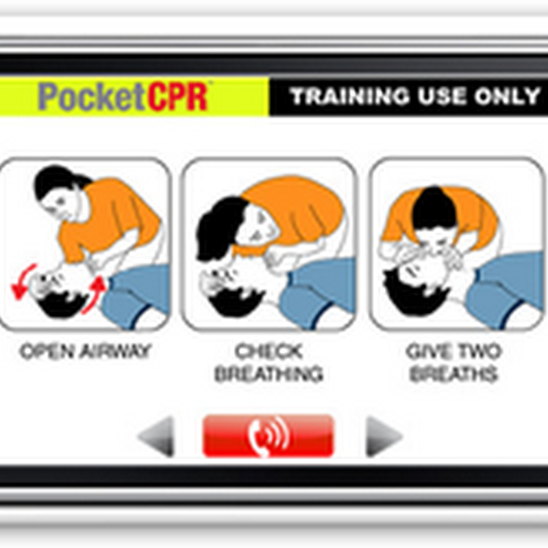 ZOLL PocketCPR for iPhone Training – Uses Accelerometer for Measurements and Analysis