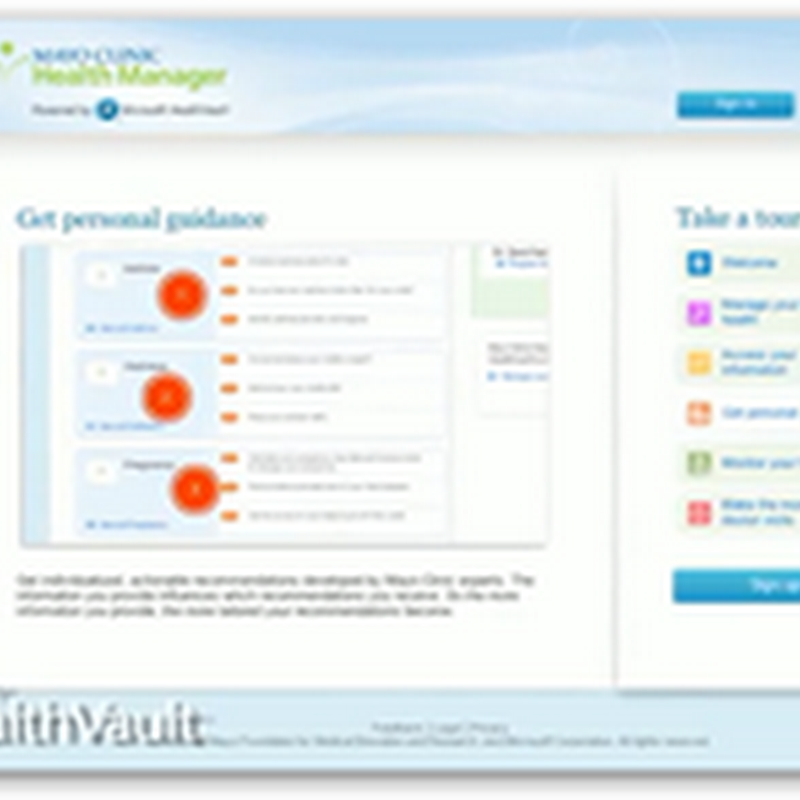 HealthVault Product Manager Discusses HealthVault and How It Works With Mayo Clinic