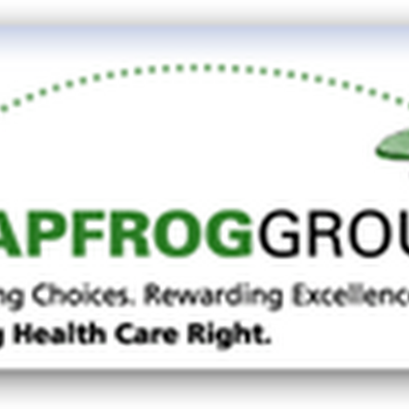 Leapfrog 2009 Top Hospital Report is Out