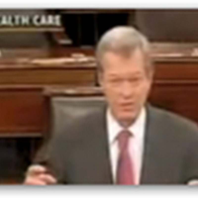 Senator Max Baucus Appears Drunk on the Senate Floor – Nothing To Lose At This Point