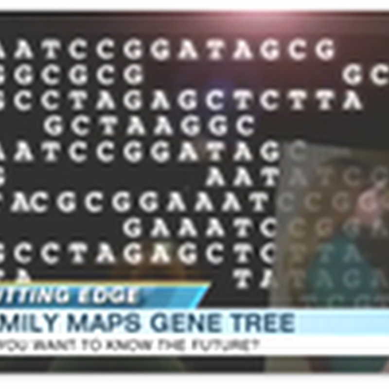 Family Spends $200,000 To Have Their Entire Genome Mapped