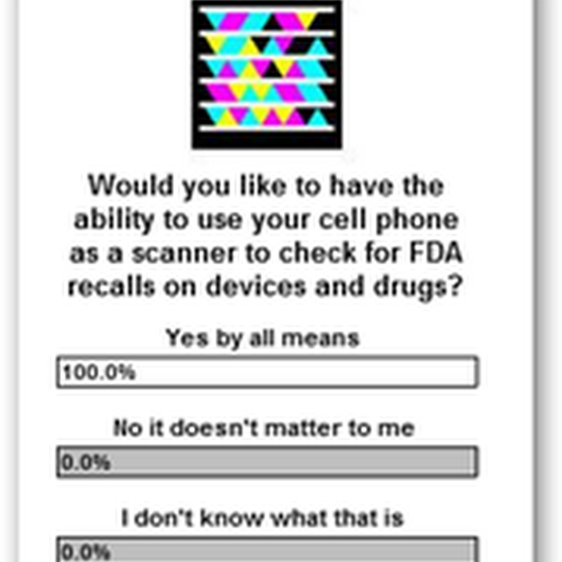 FDA Plans Recall Data Base – Nice Still Need Tags on the Products So We Can Find Them Immediately