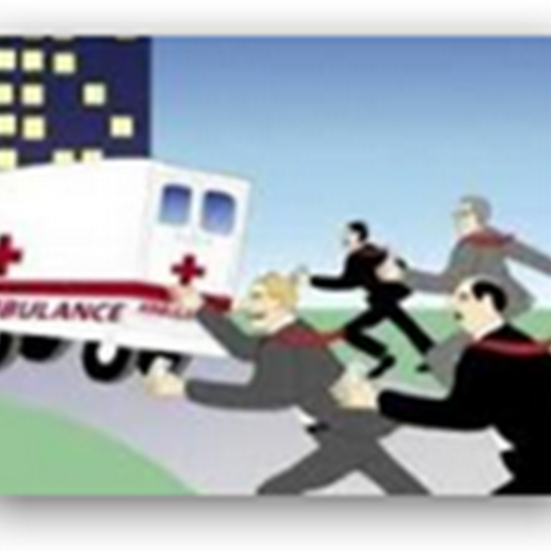 California Ambulances Advertising for Non Profits on Vehicles–Moving Billboards