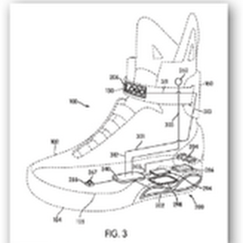 How Dependent Are We On Technology–Nike Has Filed for a Patent That Will Tie Our Shoes for Us