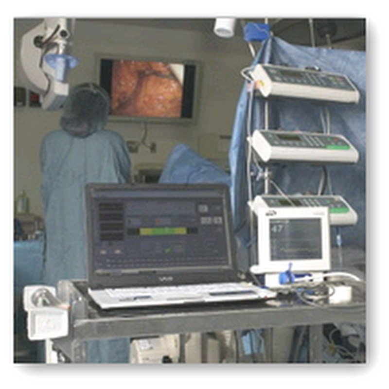 Transcontinental Anesthesia Session Demonstrated Using Video Conferencing