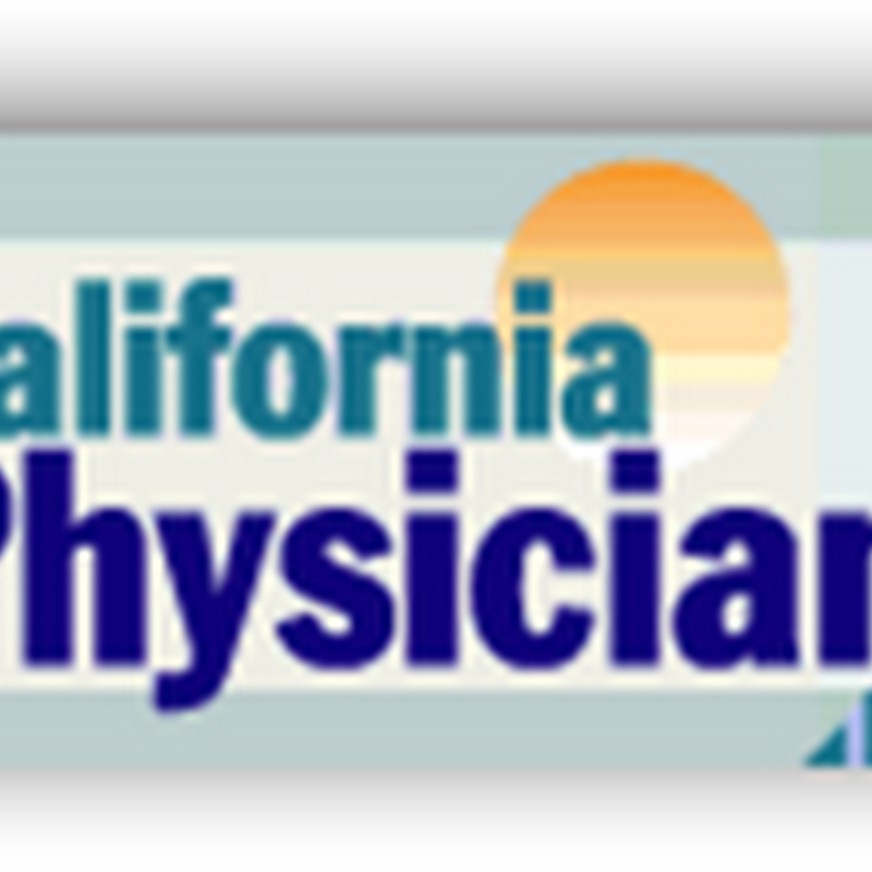 California Medical Association Releases Principles For Physicians to Follow With Accountable Care Organizations (ACOs)