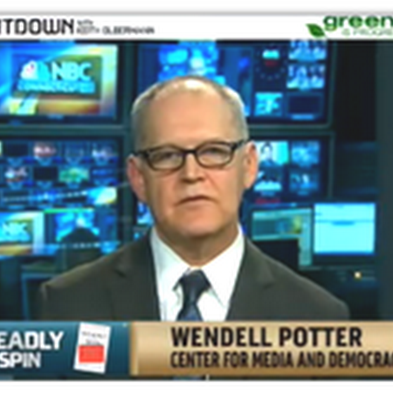 Keith Olbermann Discussing Health Insurance–Wendell Potter and Michael Moore to Unite On MSNBC Next Week