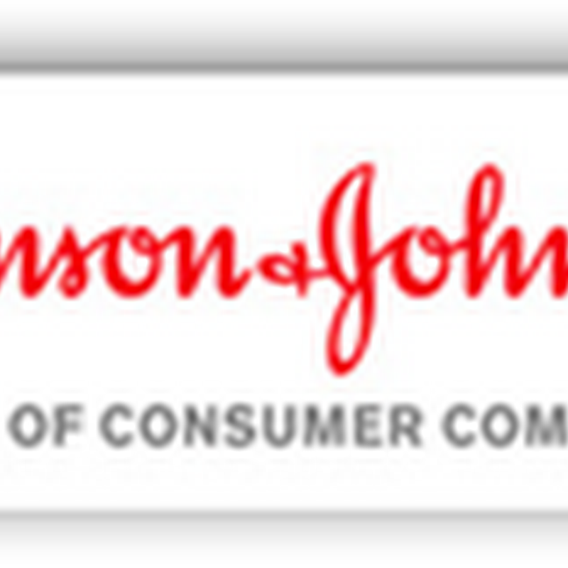 Johnson and Johnson Restructures Consumer Products Group And Creates New Global Franchise Organization