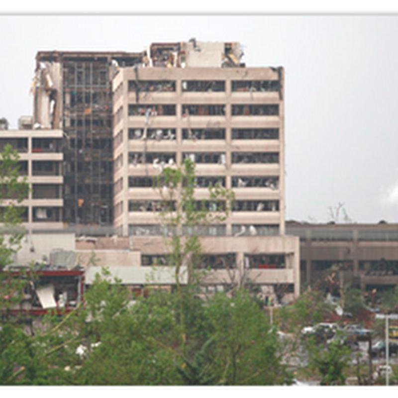 Tornado Hits Joplin, Missouri and Destroys St. John's Hospital