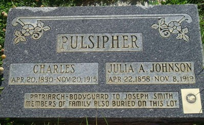 Charles Pulsipher's Grave