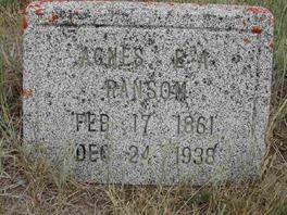 Agnes E. A. Ransom