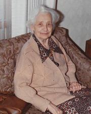 Elin Fredrika Brink (Age 85, 1972)